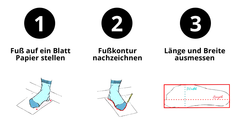Otto & Paul - Füße ausmessen